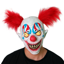 Halloween Clown <span class=keywords><strong>Latex</strong></span> <span class=keywords><strong>Masker</strong></span> Enge Pennywise Kostuum Party Evil Creepy Partij Prop