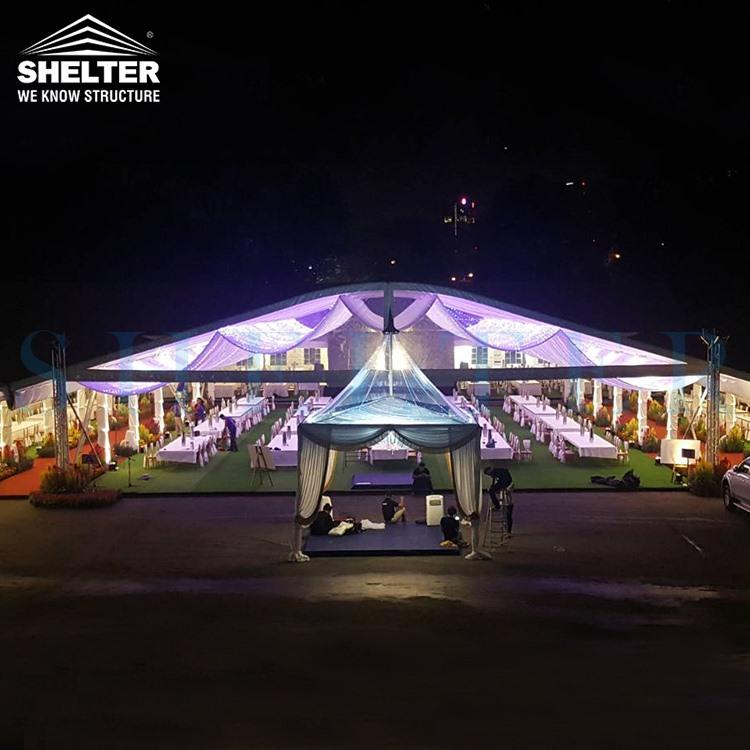 Арочного профнастила класса «Люкс», Шатер События прозрачные туфли для вечеринки, свадебные палатки