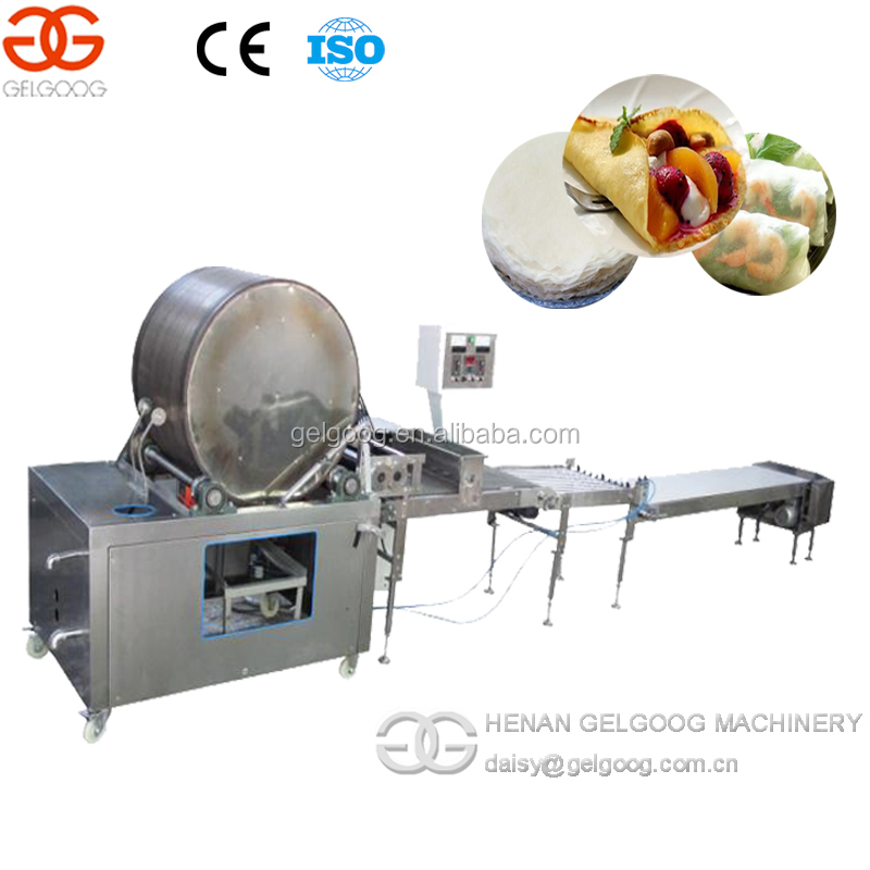 Automatic Best Price Crepes Making Machine