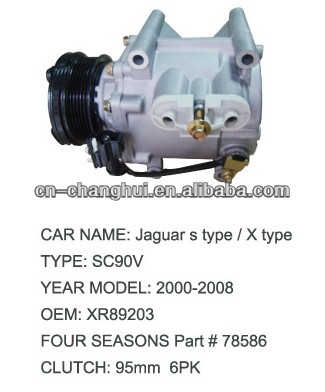 A/C Compressor For FORD JAGUAR S TYPE / X TYPE