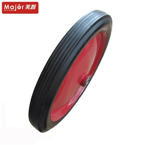 "12 "" solid rubber wheelbarrow wheel / replacement solid tyre"
