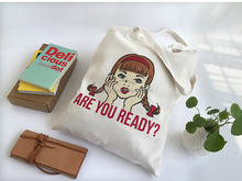 Wholesale recyclable reusable 100% cotton tote shopping bag alibaba