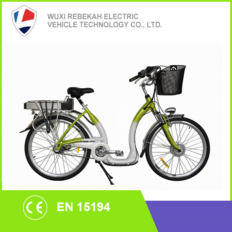 cheap and good quality trekking e-bikes from Rebeco