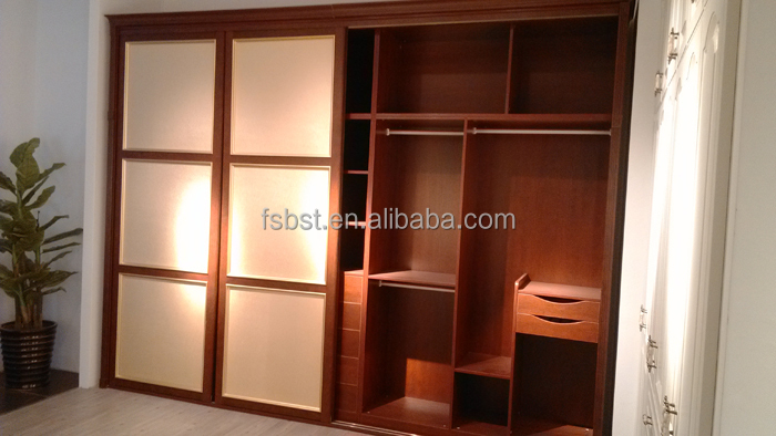 Cabinet Design For Clothes Enchanting Latest Simple Sliding Door Wardrobe Designs Cabinet Usedwooden Design Inspiration