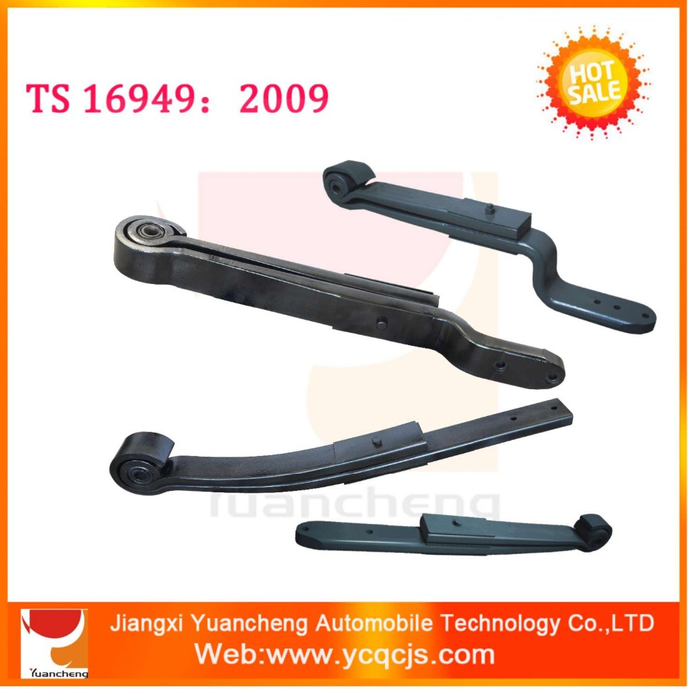 Air suspension auto leaf spring