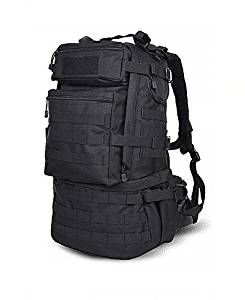 Get Quotations · MaxMiles Tactical Backpack Molle Backpacks Assault Gear  Camo Navy Army Surplus Pack 45 liters Hiking Survival 1a4a2f2897fd9