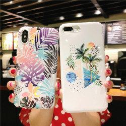 Electroplating Changing Color Pc Gradient Case Cover For Samsung S8