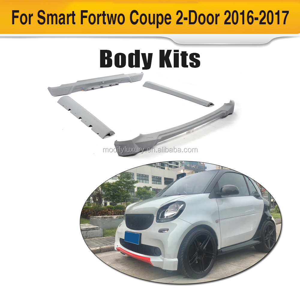 Body Kits Official Website Smart 453 Body Kit For Smart 453 To B Style With Front Lip Side Skirts Rear Diffuser Exhaust System Smart 453 Carbon Autoparts Automobiles & Motorcycles