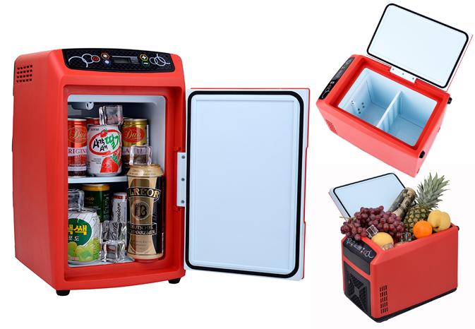 Beautiful 12L Travel Auto Car Fridge Freezer, Portable Mini Fridge