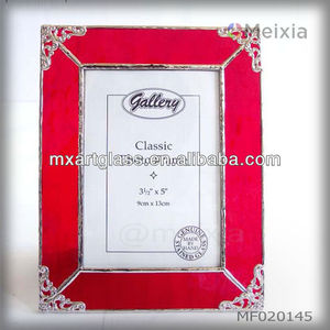 MF020145 wholesale tiffany style stained glass photo frame picture frame for home decoration item