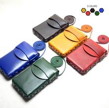 Universal Crossbody Cell Phone Bag Genuine Leather Carrying Cases Card Holder Shoulder Pouch Bag