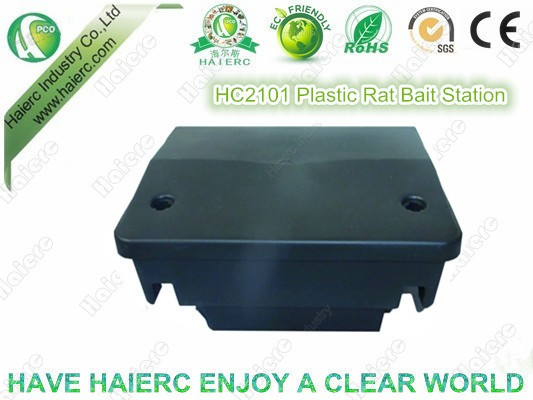 Haierc Plastic Bait Station Rat Snap Trap and Bait Rodent Bait Station