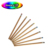 China wholesale souvenir natural wood rubber pencil