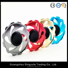 Colorful Round Fire Wheel EDC Fidget Spinner Metal Hand Spinner for Autism and ADHD Relief Focus Anxiety Stress Gift Finger Toys