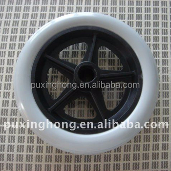 200*32 Grey Colour Polyurethane Foam Filled Wheelchair Wheels