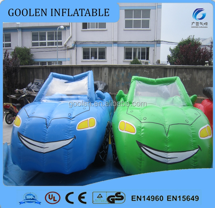 2016 Hot cheap inflatable car modesl, real size car inflatable character