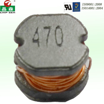 Chipsen PCB/SMD 47uH power Inductor ferrite core Led bulb power supplier inductors customized size accept shield power inductor