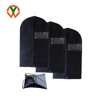 11d248ef412d Ysf-6 Luxury Garment Cover Sets Pvc Window Non Woven Garment Bag ...