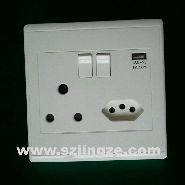 South Africa Wall Socket Electrical Outlets With Usb