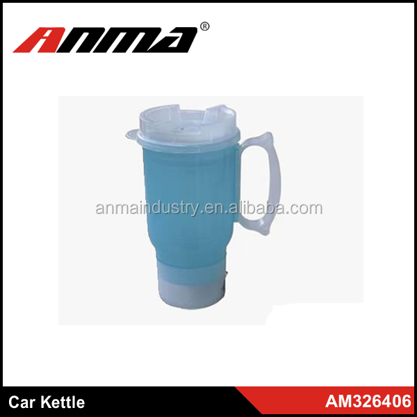 12V Convenient carried car electric kettle with thermal switch