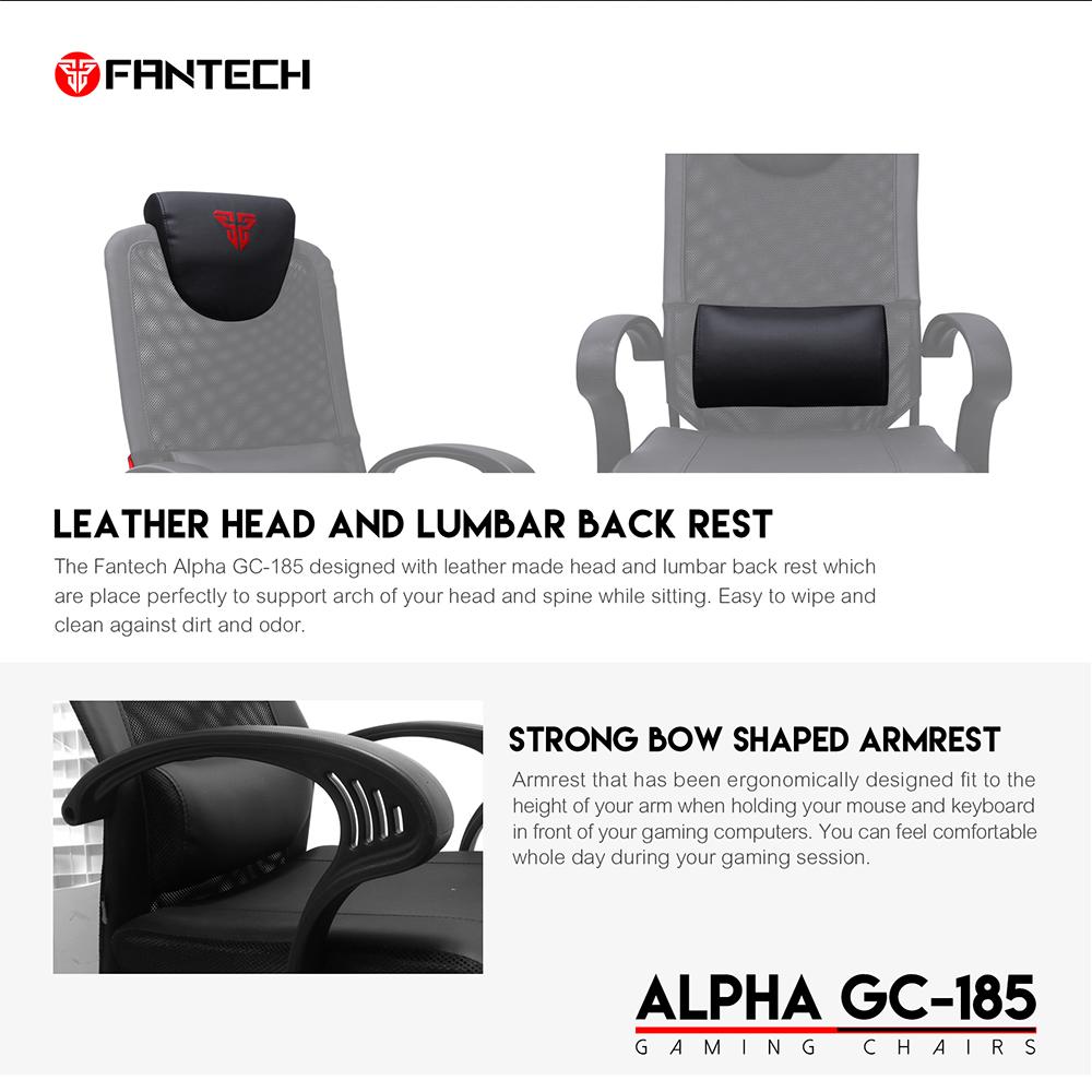 FANTECH GC-185 Alpha Gaming Chair 10