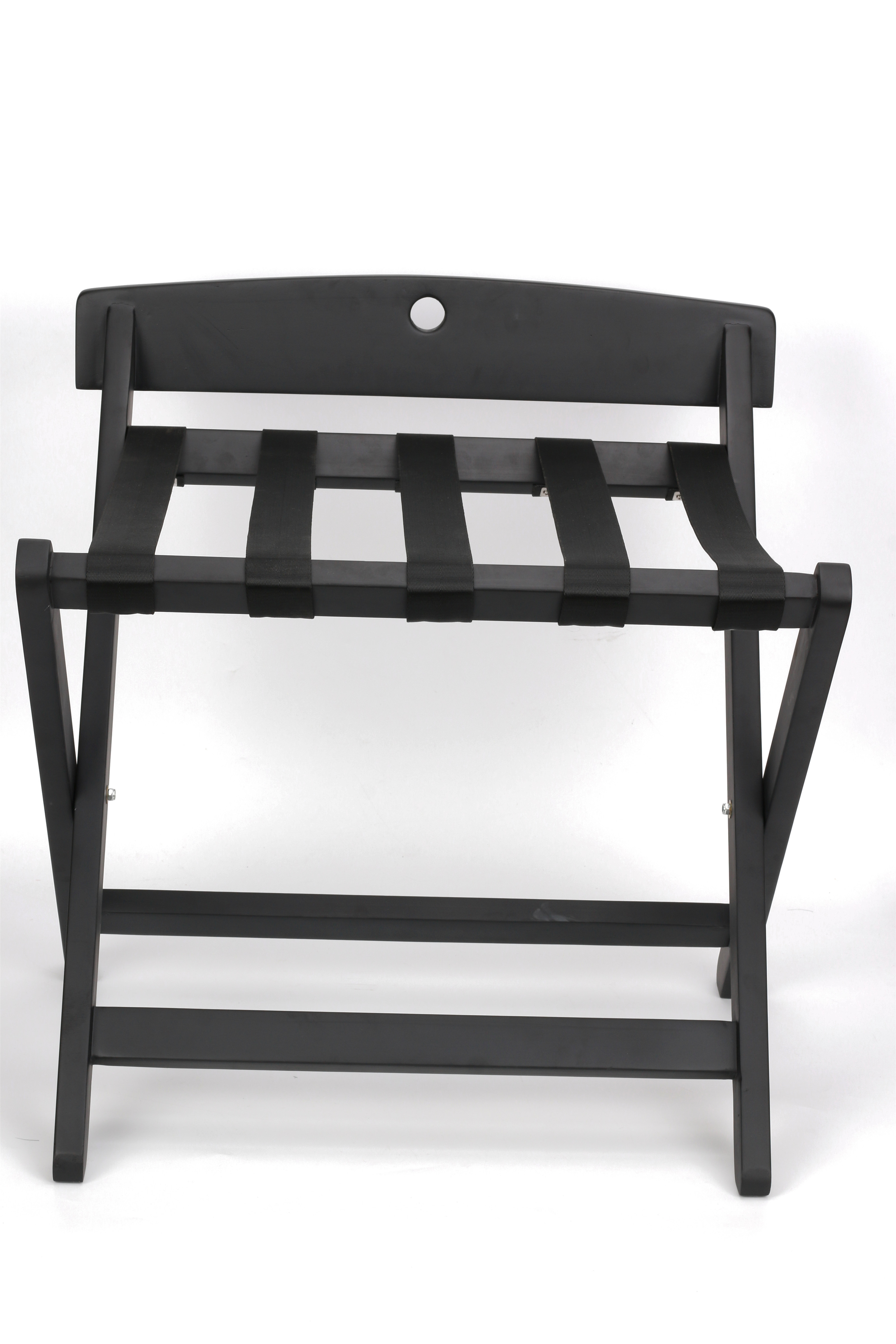 OEM BSCI Factory FSC Wood Folding Hotel Luggage Rack For Hotel Supplies