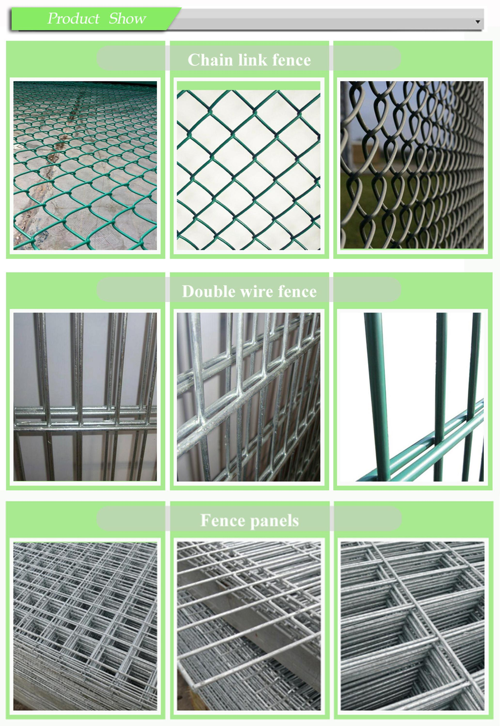 Wholesale Galvanized Pvc Coated Chain Link Fence Buy