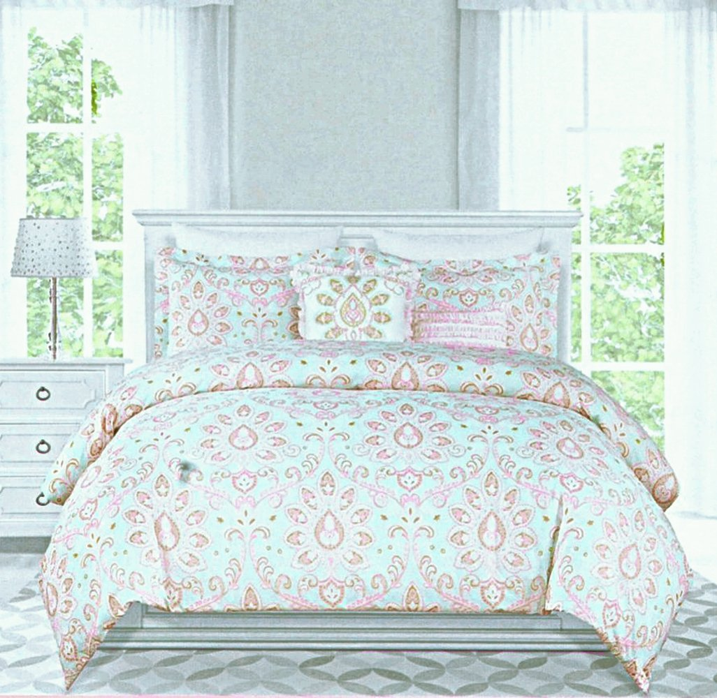 home luxury bedding embroidered cover designer sets duvet embroidery nimsay metallic itm
