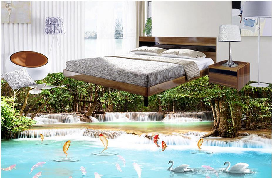 online kaufen gro handel koi tapete aus china koi tapete. Black Bedroom Furniture Sets. Home Design Ideas