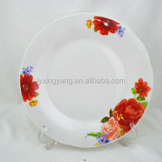 SP118 High Quality Ceramic dinner plates for Crockery restaurant