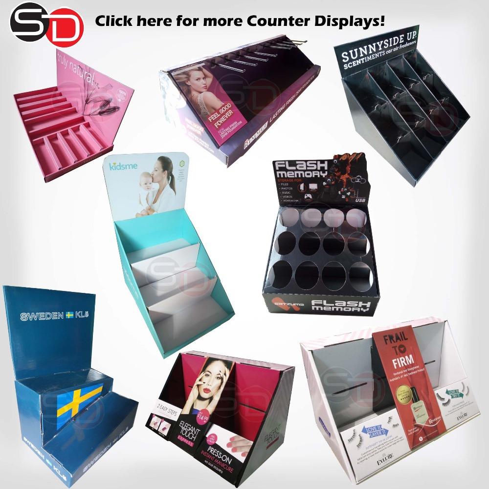 Mobile Phone Accessories Display Rack Bettery Pop Display