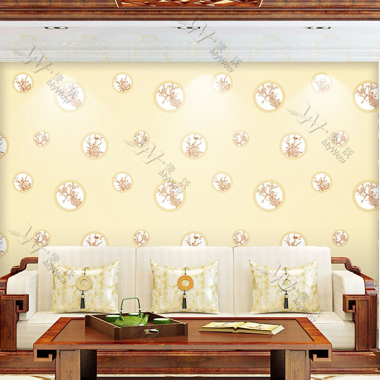 Guangzhou Factory Price Chinoiserie Wallpaper Home Decor