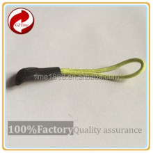 2015 GZ-Time Factory supply brand garment elastic plastic pvc green silicone slider,supply brand plastic garment green puller