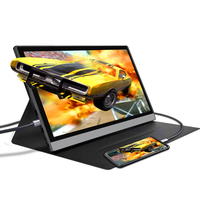 dual screen laptop wide dvi touch screen monitor portable monitor 15.6 for laptop expandable screen gaming monitor