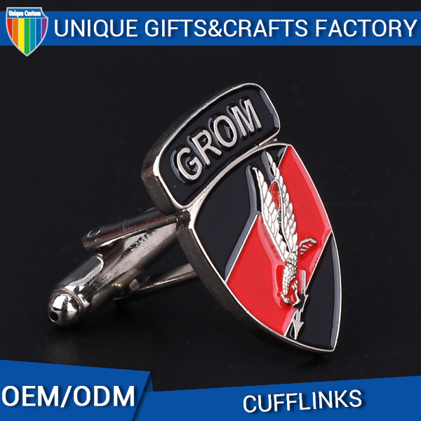 New product souvenir metal father of the bride cufflinks