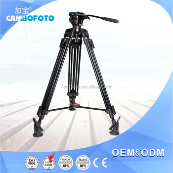Heavy Duty Aluminum Universal Flexible Professional Video camera Tripod With Carry Bag