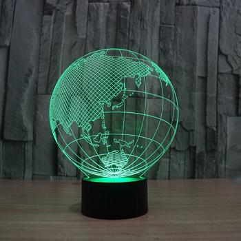 3d Globe Shape Tall Lava Lamp FS 2817