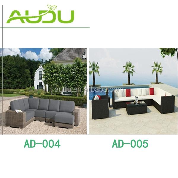 Audu Adelaide Balcony Patio Wicker Sofa