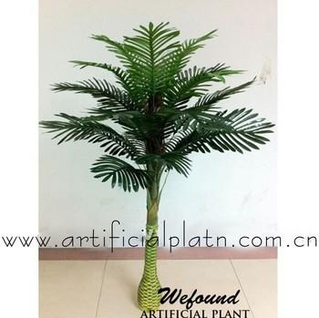 WEFOUND WF07071 Artificial 5u0027 Phoenix Mini Palm Trees Plant Silk Bush Pool  Patio Arrangement Date
