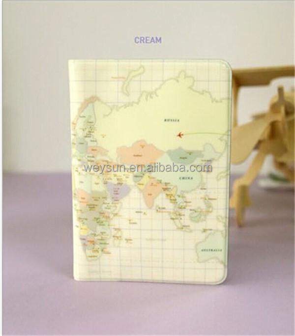 World Map Passport Holder.World Map Passport Case Money Credit Card Cover Holder Buy High