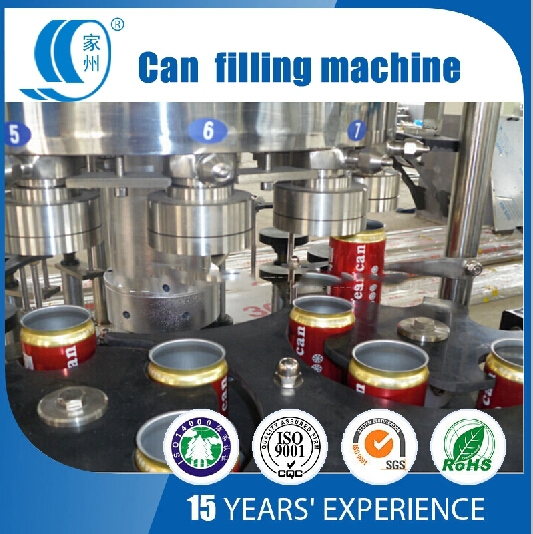 Good quality pop can filling production line price
