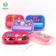 Malaysia stacked stackable multifunctional lunch box with cutlery set
