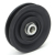 Plastic Material spare parts pulley for cable, pulley bearings