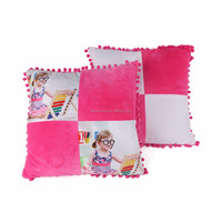 Functional OEM Service Fancy red Sublimation Baby Quilted Hotel Pillow Case