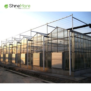SHINEMORE greenhouse construction inflation blower used green house