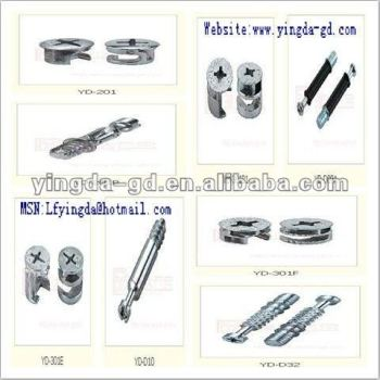 High Quality Different Types Furniture Connector Cam Furniture Screw Connector Cam Bolt Nut Factory View Cam Furniture Screw Connector Yingda Product Details From Lufeng Yingda Furniture Fittings Ltd On Alibaba Com