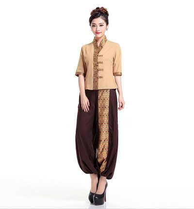 Online buy wholesale massage therapist uniforms from china for Spa uniform china