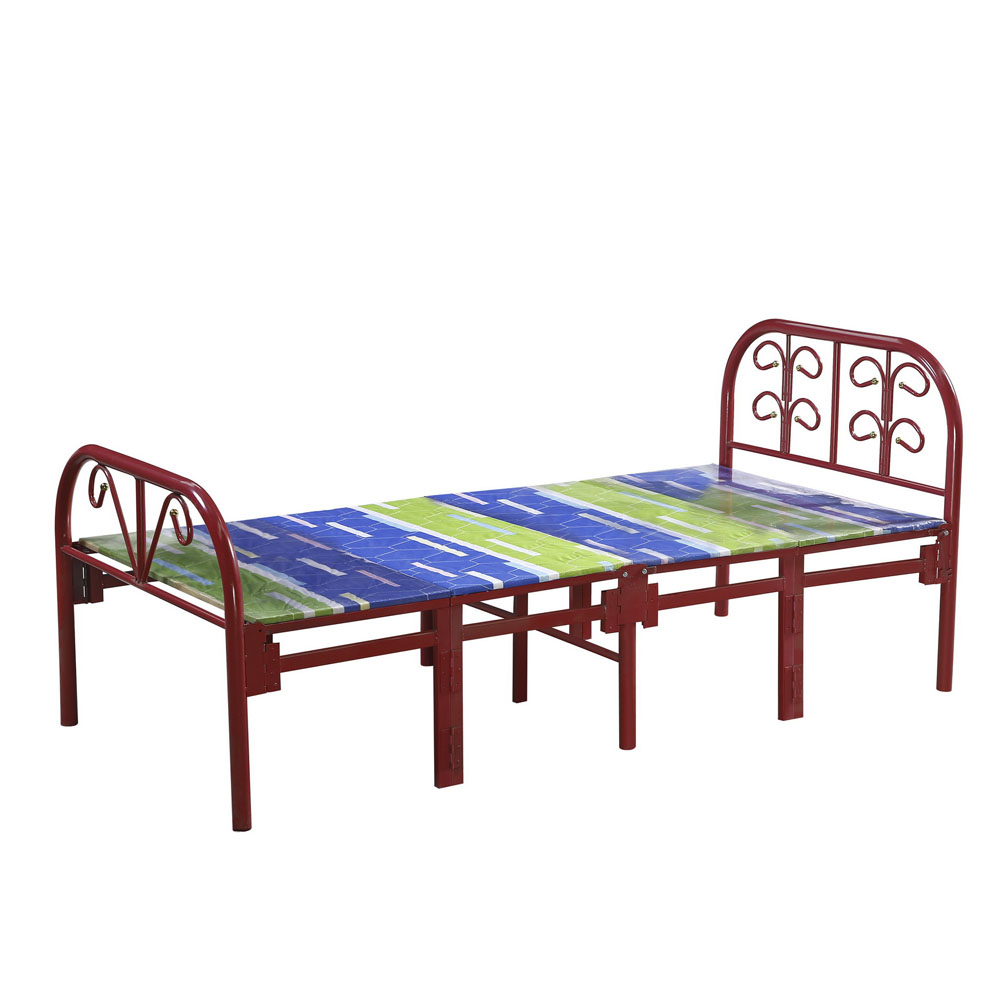 High Quality Steel Furniture Manufacturers Whole Metal Single Folding Bed