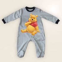Best Made Knitted Cotton Baby Rompers with winnie the pooh