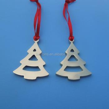 custom christmas tree cutout design christmas day tree hanging